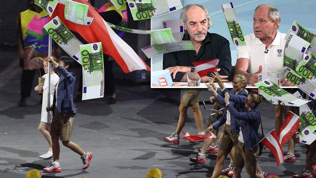 Hier verliert der Sport 20 Millionen Euro pro Jahr (Bild: thinkstockphotos.de, GEPA, krone.tv)