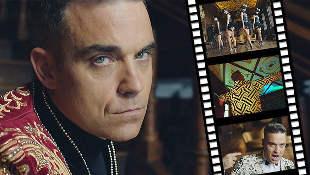 Robbie Williams prescht mit erster Single vor (Bild: Sony Music)