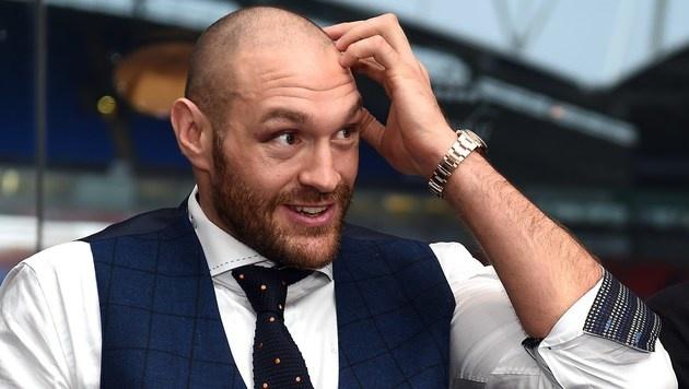 Tyson Fury angeblich positiv auf Kokain getestet (Bild: APA/AFP/PAUL ELLIS)