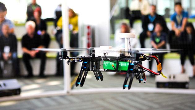 Diener der Lüfte: Was Drohnen für uns tun können (Bild: Intel)