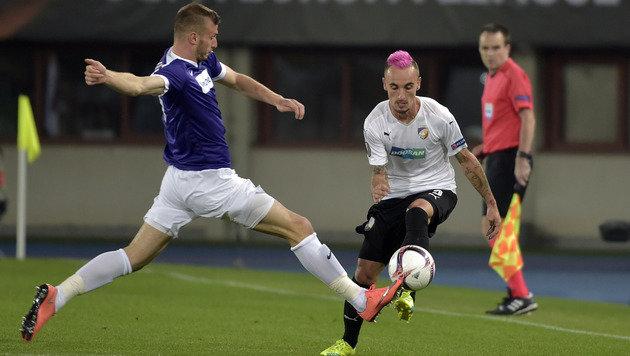 FK Austria stolpert gegen Pilsen zu mattem 0:0! (Bild: APA/HANS PUNZ)