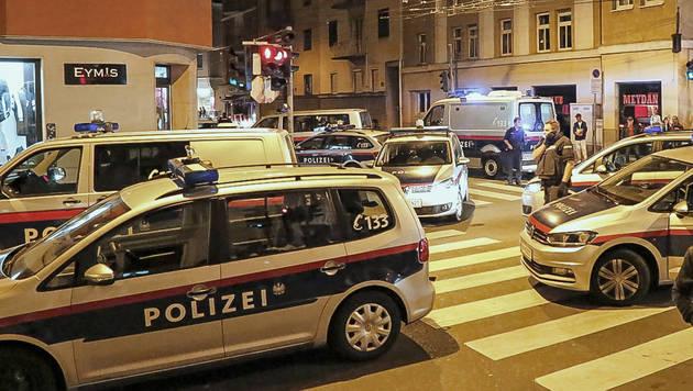 Messerangriff und Schüsse bei Streit in Salzburg (Bild: MARKUS TSCHEPP)