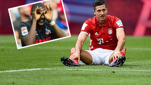 Bayern patzt gegen Stögers 1. FC Köln – nur 1:1! (Bild: APA/dpa/Matthias Balk, APA/AFP/CHRISTOF STACHE)