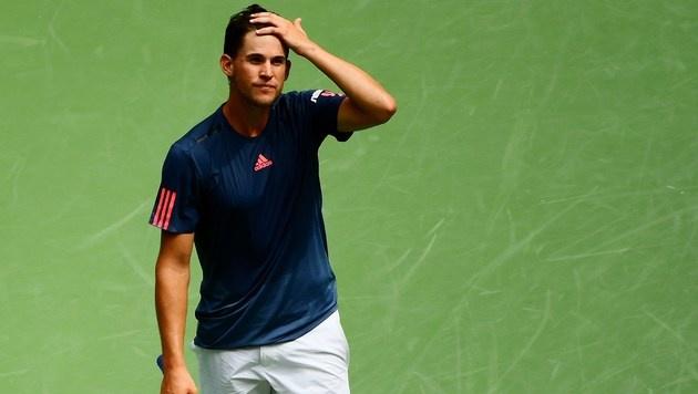 Knie! Thiem zittert um seinen Masters-Traum (Bild: Getty Images)