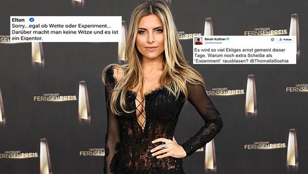 """Promis schockiert: """"Darüber macht man keine Witze"""" (Bild: Viennareport/Twitter.com)"""