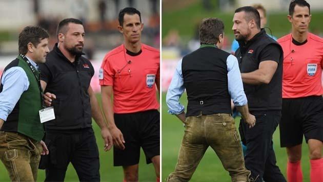 Schiedsrichter beleidigt: Anzeige gegen WAC-Boss (Bild: Winfried Pessentheiner)