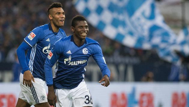 4:0 gegen Gladbach! Erste Punkte für Schalke (Bild: APA/dpa/Bernd Thissen)
