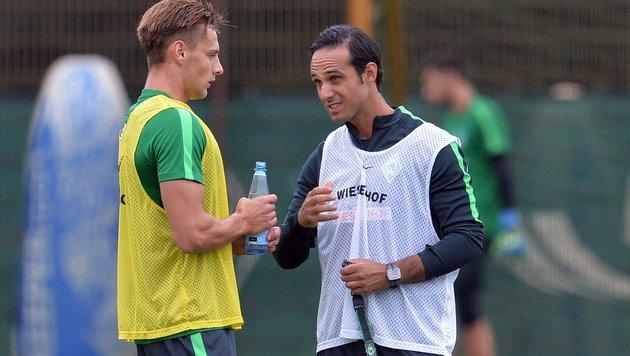 Nouri bleibt bis zum Saisonende Werder-Trainer (Bild: APA/AFP/dpa/CARMEN JASPERSEN)