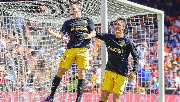 Atletico vergibt zwei Elfmeter und siegt trotzdem (Bild: AFP or licensors)