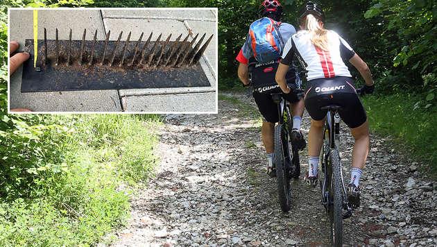 Biker-Hasser vergrub auf beliebter Strecke Krallen (Bild: Sepp Pail, Claudio Trevisan)