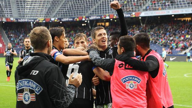 Deni Alar köpfelt Sturm zum Sieg gegen Salzburg (Bild: GEPA)