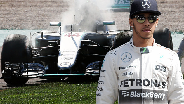 Feuer bei Hamilton! Drama bei Erfolg von Ricciardo (Bild: GEPA)