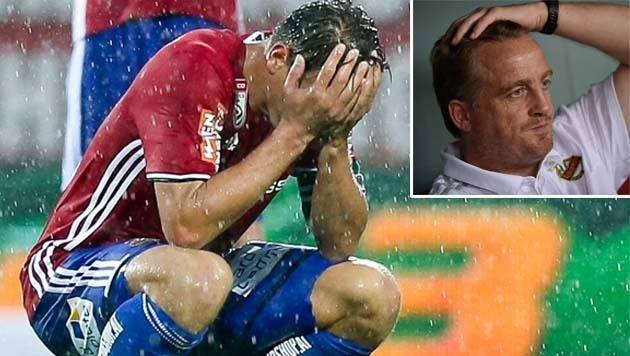 """Rapid-Sportchef Müller: """"Es liegt an der Birne"""" (Bild: APA/EXPA/ROLAND HACKL, AP)"""