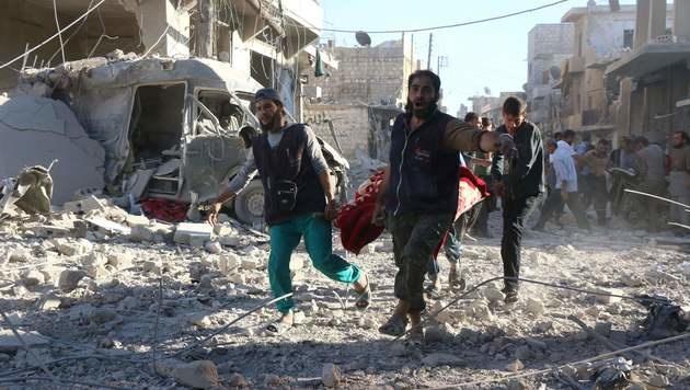 USA brechen Dialog mit Russland über Syrien ab (Bild: APA/AFP/Thaer Mohammed)