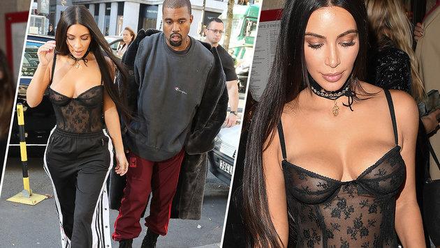 Kim Kardashian in Paris brutal überfallen (Bild: Viennareport)