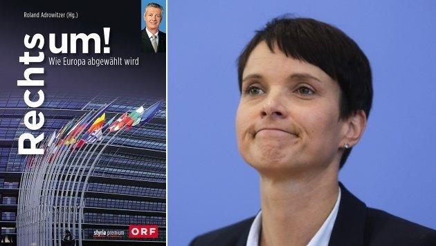 """""""Rechts um!"""" beschreibt den Siegeszug der Rechtspopulisten wie Frauke Petry von der AfD. (Bild: styria premium, ASSOCIATED PRESS)"""