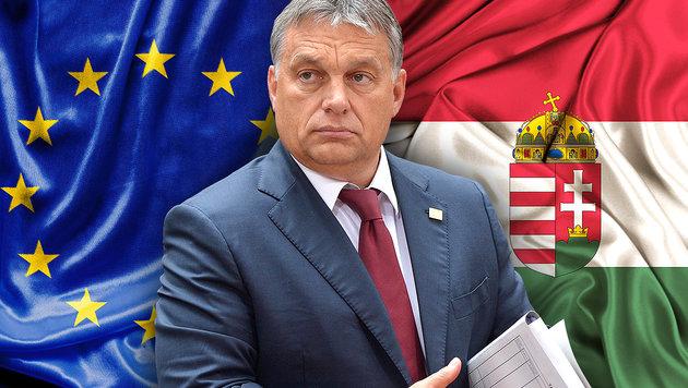 """Orban bleibt hart: """"EU kann uns nicht ignorieren"""" (Bild: EPA/Stephanie Lecocq, thinkstockphotos.de)"""