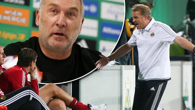 "Rapid-Sportchef Müller: ""Es liegt an der Birne"" (Bild: GEPA)"