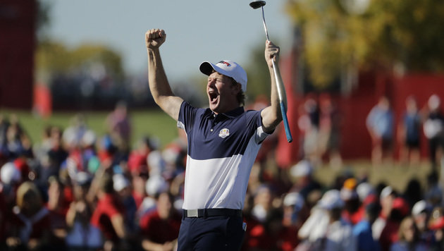 Ryder Cup: USA entthront Titelverteidiger Europa (Bild: ASSOCIATED PRESS)