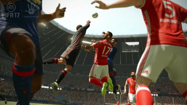 """Suchtgefahr: Bald Warnhinweise bei """"FIFA"""" & Co.? (Bild: EA)"""