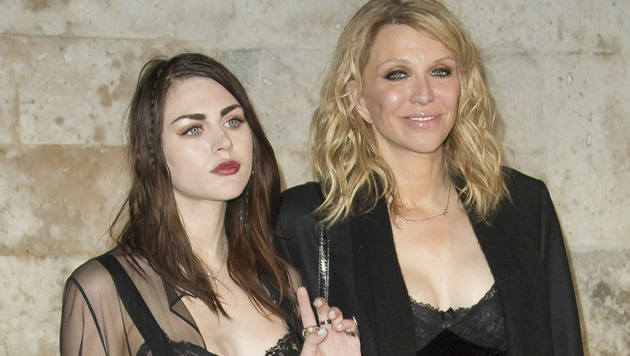 Frances Bean Cobain und Courtney Love (Bild: Viennareport)