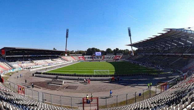 Das legendäre Karlsruher Wildpark-Stadion (Bild: Hannes Maierhofer)
