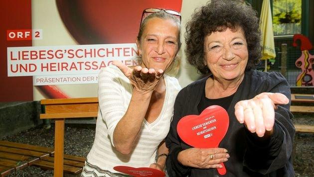 ORF-TV-Direktorin Kathrin Zechner und Elizabeth T. Spira (Bild: ORF)