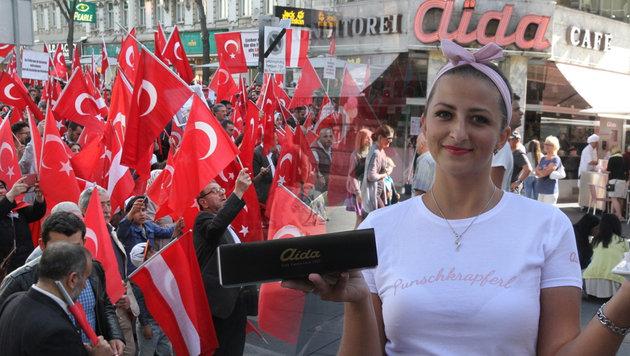70 Unternehmer gegen Demo-Irrsinn in Wiener City (Bild: ANDI SCHIEL)