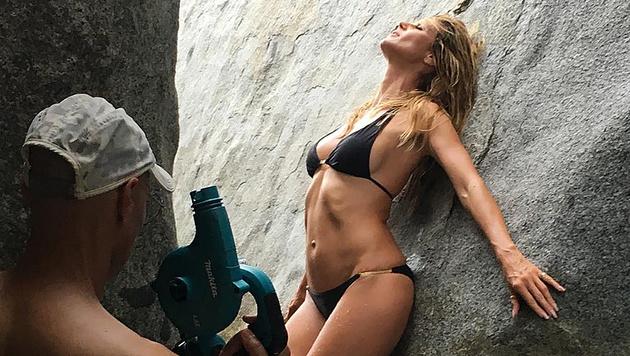 Heidi Klum macht im Bikini immer noch eine gute Figur. (Bild: instagram.com/heidiklum)