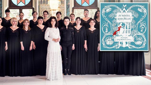 Katie Melua bringt den klanglichen Winter zu uns (Bild: BMG, PIP)