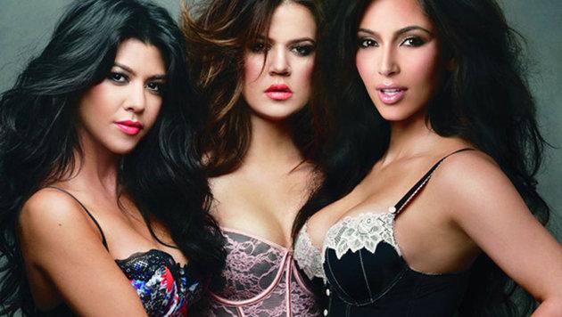 Kim Kardashian und ihre Schwestern Kourtney und Khloe (Bild: Viennareport)
