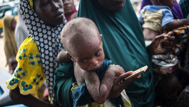 UNICEF: 385 Mio. Kinder leben in extremer Armut (Bild: APA/AFP/Stefan Heunis)