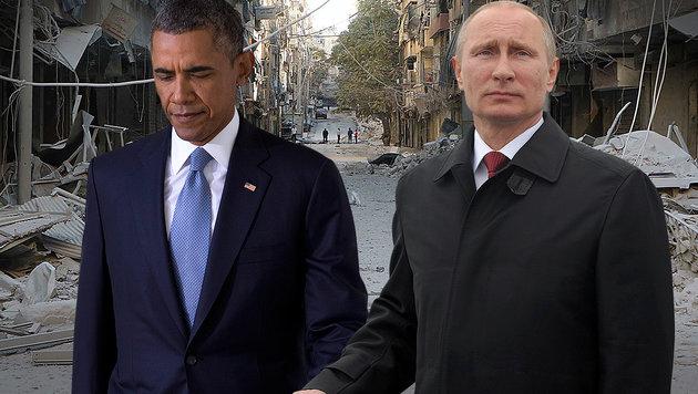 USA brechen Dialog mit Russland über Syrien ab (Bild: EPA/Alexey Druginyn/RIA Novosti, Associated Press)