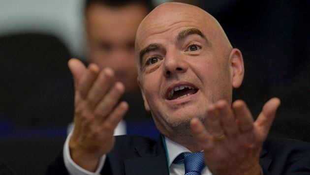 FIFA-Boss Gianni Infantino (Bild: AFP)