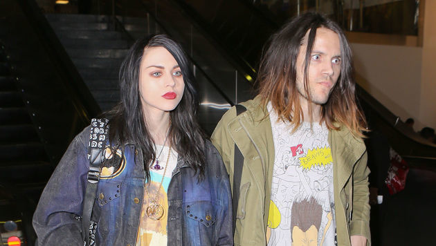 Frances Bean Cobain mit ihrem Noch-Ehemann Isaiah Silva (Bild: Viennareport)