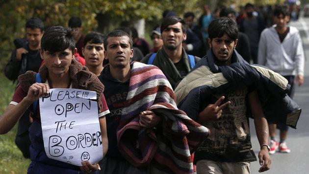 Serbien kündigt komplette Grenzschließung an (Bild: The Associated Press)
