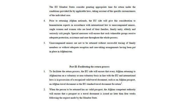 EU-Geheimvertrag mit Afghanistan veröffentlicht (Bild: Europäische Union)