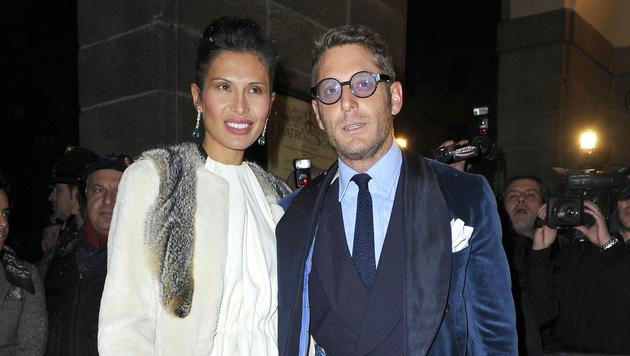 Lapo Elkann mit seiner Ex-Freundin Goga Ashkenazi (Bild: Viennareport)