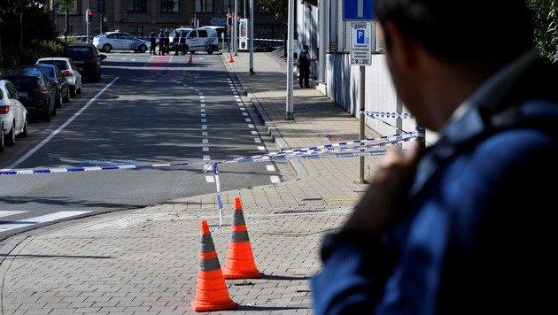Attacke auf Brüsseler Polizisten: Täter in Haft (Bild: AFP)