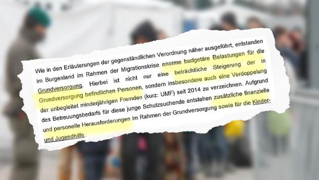 """Die Migrationskrise brachte im Burgenland """"enorme budgetäre Belastungen für die Grundversorgung"""". (Bild: """"Krone"""", Klemens Groh)"""