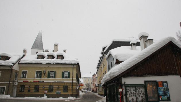 So sah der Winterwetter-Einbruch in Bad Aussee im Jahr 2009 aus. (Bild: Jürgen Radspieler)