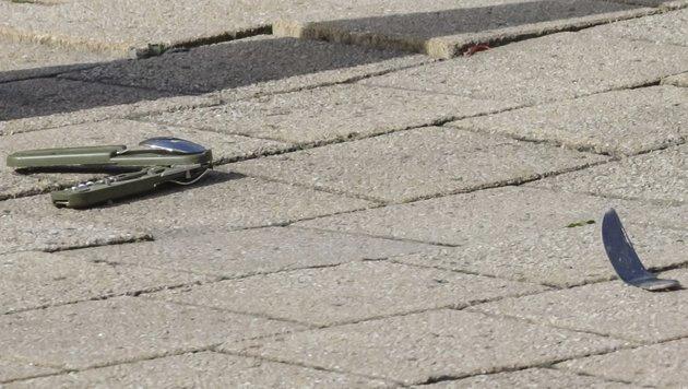 Attacke auf Brüsseler Polizisten: Täter in Haft (Bild: AP)