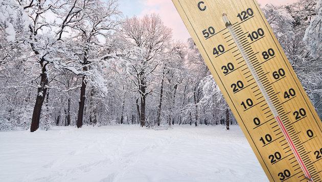 Auf Super-September folgt jetzt eisiger Schneefall (Bild: thinkstockphotos.de)