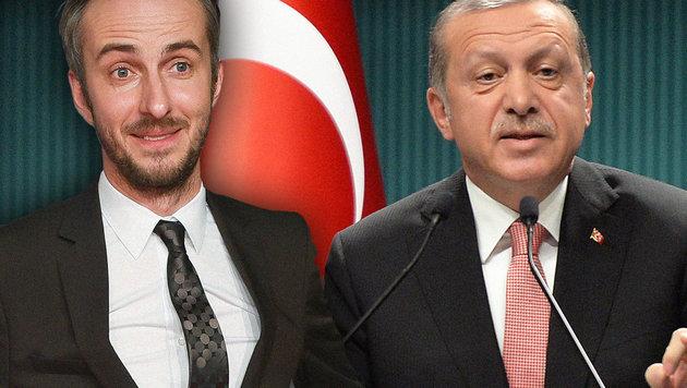 Jan Böhmermann, Recep Tayyip Erdogan (Bild: AP, EPA)