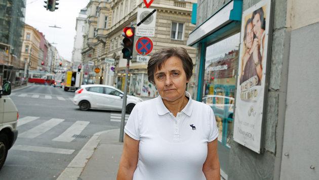 Hausbesuch mit Rad? Ärztin Lieselotte Messner-Seitz fordert Parkpickerl für niedergelassene Kollegen (Bild: Martin A. Jöchl)