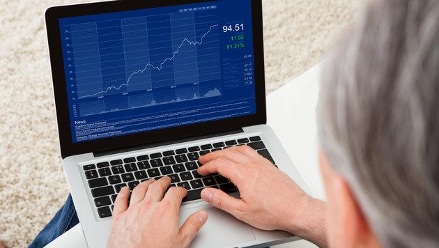 Pensionist bei Aktiendeals um 2,3 Mio. € betrogen (Bild: thinkstockphotos.de)