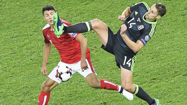 ArnauTORvic rettet ÖFB-Team 2:2 gegen Wales (Bild: APA/ROBERT JAEGER)