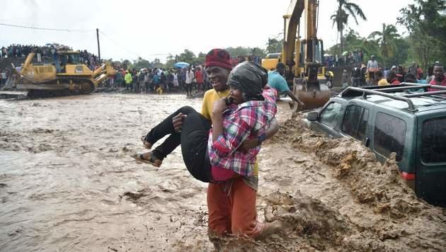Die USA bereiten sich auf Mega-Hurrikan vor (Bild: AFP)