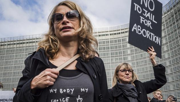 Polen: Parlament gegen totales Abtreibungsverbot (Bild: AP)
