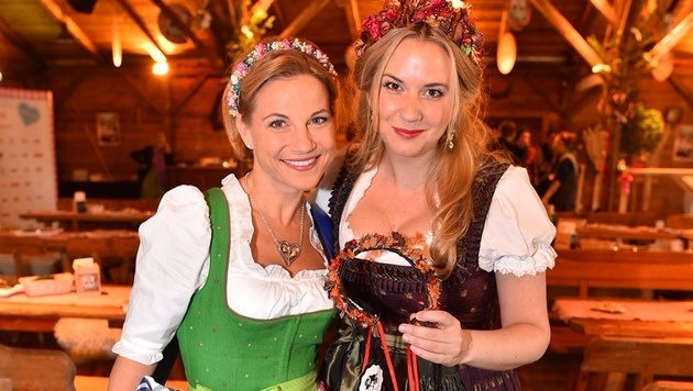 Kristina Sprenger und Niki Osl (Bild: Andreas Tischler)